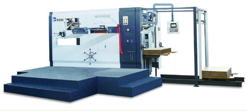 BY1300 semi-automatic diecutting and creasing machine