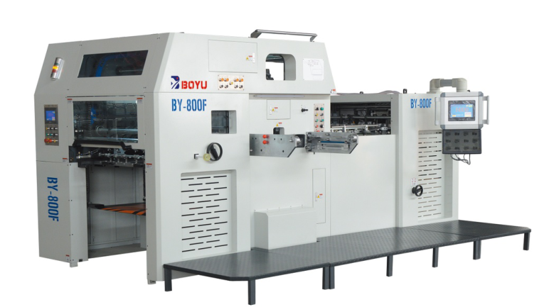 BY-800 automatic foil stamping and diecutting machine